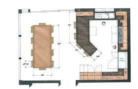 kitchen floor plans island u shaped kitchen with island floor plan large size of u shaped