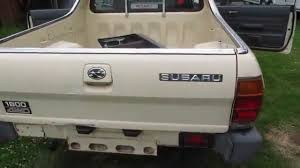 subaru mini pickup 1987 subaru mv 1800 pickup youtube