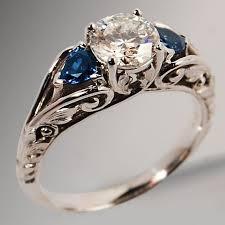 vintage rings designs images Tacky costume antique diamond ring wedding promise diamond jpg