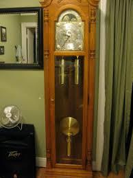decorating impressive howard miller grandfather clock for enhance