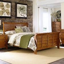 liberty furniture tahoe sleigh bed u0026 reviews wayfair