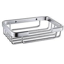bathroom shoo holder amazon com kes a4040 bathroom soap dish holder wall mount