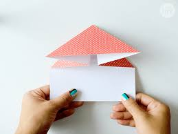 how to fold a love letter format