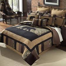 Camouflage Comforter Camo Bear Quilt Bedding Collection