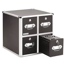 File Cabinets That Lock by Amazon Com Vaultz Locking Cd File Cabinet 2 Drawers 8 X 14 5 X