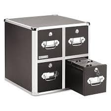 amazon com vaultz locking cd file cabinet 2 drawers 8 x 14 5 x