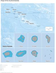 French Polynesia Map Austral Islands Map English 990 Jpg La U003den