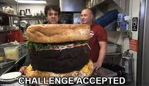 Challenge Accepted Meme - funny memes of the challenge accepted social media trend daily