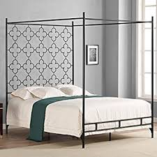 Wrought Iron Canopy Bed Metal Canopy Bed Frame King