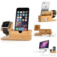best charging station best for apple watch iwatch iphone bamboo charging station stand usb