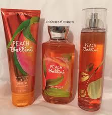new bath body works peach bellini ultra shea lotion shower gel bath body works peach bellini ultra shea lotion shower gel mist