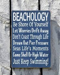 nautical wedding sayings sign decor beachology new unique house plaque coastal