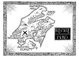 Blank Treasure Map by Benjamin C Carr Another Treasure Island Map
