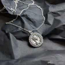 sterling silver ring necklace images Kendra scott silver retro elizabeth round coin pendant necklace jpg