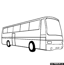 100 free vehicle coloring pages color picture bus