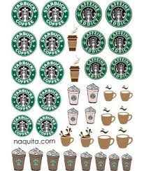 starbucks nail tattoo nail art pinterest starbucks nails
