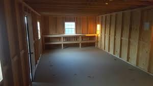 pics inside 14x32 house 6 14 u2032 x 32 u2032 deluxe shed small log cabins horse barns chicken
