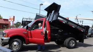 Ford F350 Landscape Truck - town and country truck 5901 2001 ford f350 4x4 2 3 yd all steel