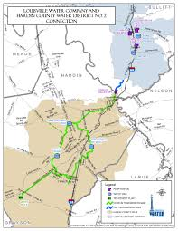Map Of Louisville Ky Opening The Pipeline On Expansion Louisville Water Company