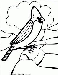 coloring birds coloring pages