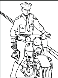 police car cartoon coloring pages free printable policeman kids