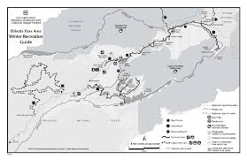 Bear Creek Trail Map Upper Mokelumne