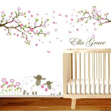 nursery wall art decals nursery wall decals tree nursery wall