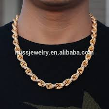 rope necklace designs images Dubai diaomnd gold rope chain necklace design for men iced out jpg