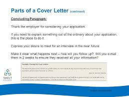 cover letter writing ppt download