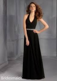 elegant halter v neck floor length sliver satin long bridesmaid