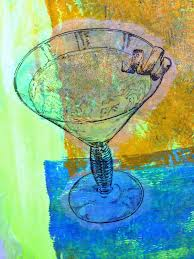 martini glass acrylic painting viva las vegastamps it u0027s 5 o u0027clock somewhere with a twist