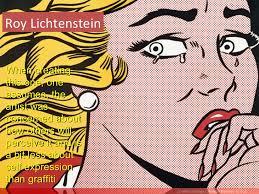roy lichtenstein vector what is design