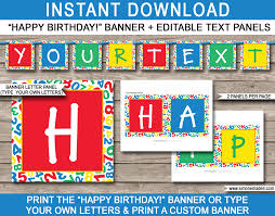 sesame street invitations template sesame street party banner template happy birthday bunting
