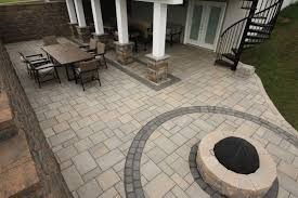 Types Of Pavers For Patio by Signature Concrete Design Landscapes With Natural Stone And Pavers