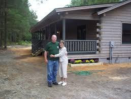 carolina log center built the first certified green log home in
