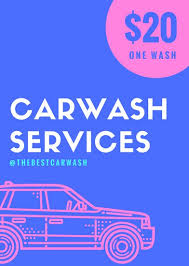 blue pink car sketch car wash flyer templates by canva