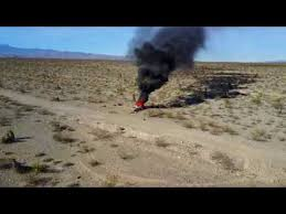 Tule Springs Fossil Beds National Monument Dji Mavic Drone Video Of Fire At Tule Springs Fossil Beds National