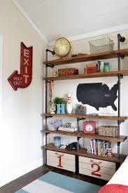unique industrial shelving for home diy shelving ideas easy to