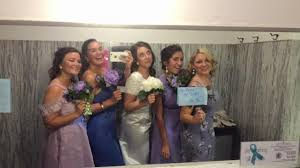 Bridesmaid Halloween Costume Group College Friends Dressed 90s Bridal Party