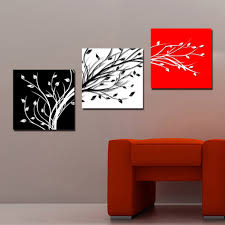 wall art paintings golden autumn landscape tree home decor 3 piece abstract tree 3 piece canvas wall art print for home decoration wall