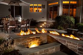 Custom Gas Fire Pits - outdoor products u2014 valley fire place inc