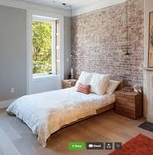 Grey Walls Bedroom Best 25 Brick Wall Bedroom Ideas On Pinterest Industrial