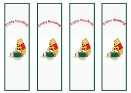 winnie pooh bookmarks u2013 birthday printable