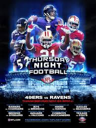thursday football 1 of 3 large poster image