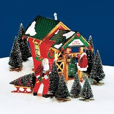 department 56 snow department 56 the original snow series nick s tree farm