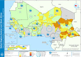 sahel desert map sahel region central and africa food security situation in