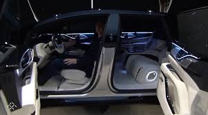 ff interior ces 2017 faraday future shows ff 91 connected electric car