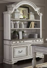 antique white china cabinet or navy blue and vintage hutch with