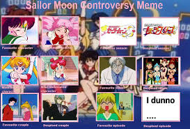Sailor Moon Meme - jessicawinx s sailor moon controversy meme by jessicawinx on