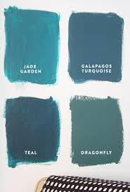 Shades Of Blue Paint by 4 Shades Of Teal